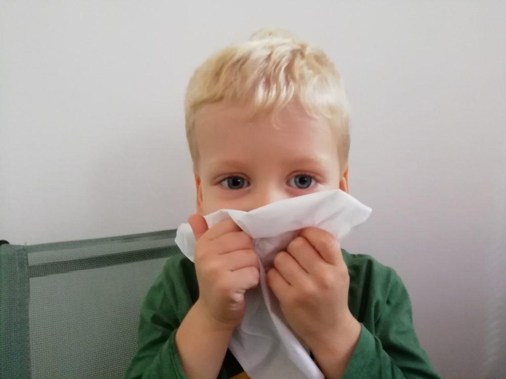 Wydmuchiwanie nosa
